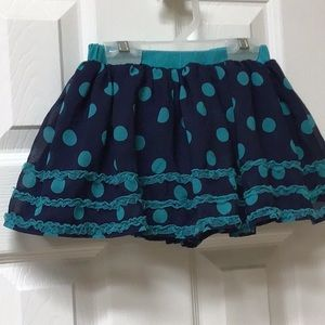Fun Frilly Disney Skirt w Shorts 4T
